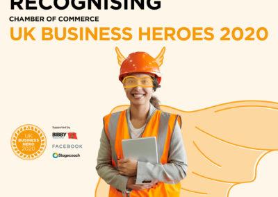 RS Eco World Wins UK Business Hero Award UK 2020